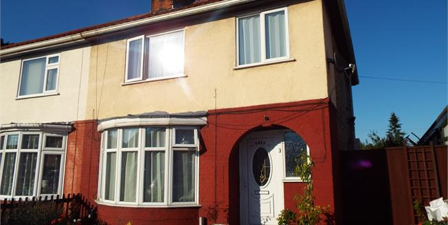 Asking Price £160,000, 3 Bedroom Semi Detached House For Sale in Peterborough, PE4