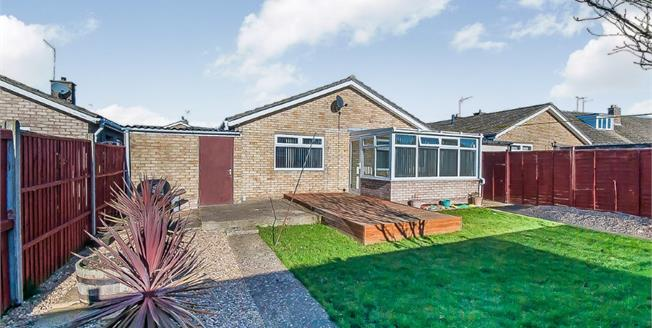 Offers in excess of £250,000, 3 Bedroom Detached Bungalow For Sale in Whittlesey, PE7