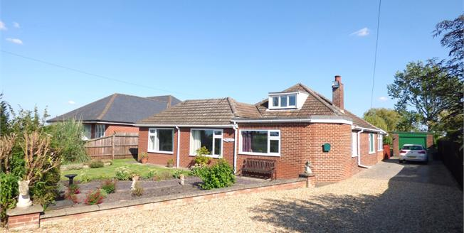 Offers in the region of £380,000, 5 Bedroom Detached Bungalow For Sale in Gedney Hill, PE12