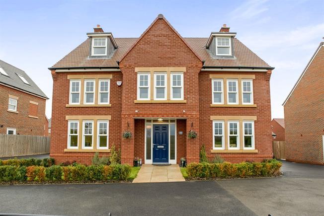 5 bedroom detached house for sale in bedford for asking