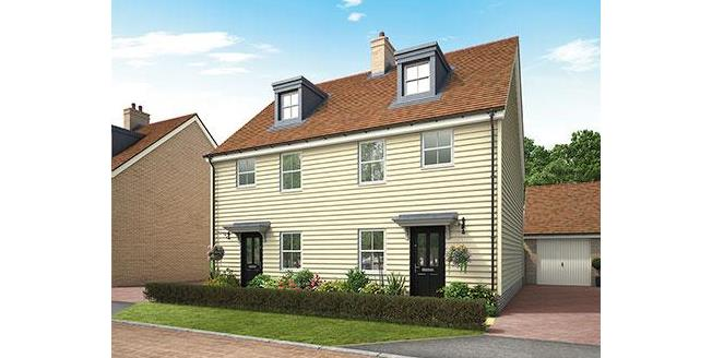 £319,950, 3 Bedroom Semi Detached House For Sale in Biggleswade, SG18