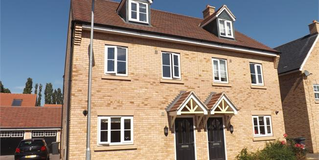 Asking Price £320,000, 3 Bedroom Semi Detached House For Sale in Biggleswade, SG18