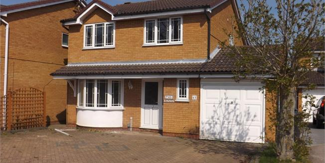 Guide Price £325,000, 4 Bedroom Detached House For Sale in Huntingdon, PE29