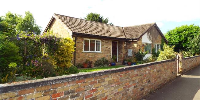 Guide Price £275,000, 2 Bedroom Detached Bungalow For Sale in Alconbury, PE28