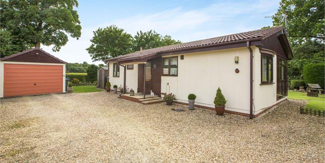 Guide Price £187,500, 2 Bedroom Detached Bungalow For Sale in Grafham, PE28
