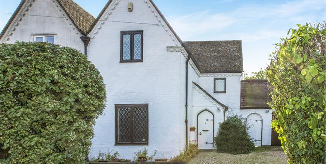 Guide Price £290,000, 3 Bedroom Semi Detached House For Sale in Grafham, PE28