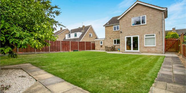 Asking Price £335,000, 4 Bedroom Detached House For Sale in Somersham, PE28