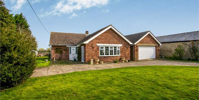 Guide Price £400,000, 3 Bedroom Detached Bungalow For Sale in Woodhurst, PE28