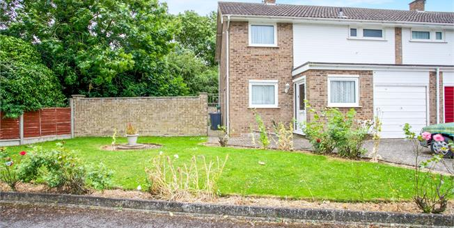 Offers in excess of £260,000, 3 Bedroom Semi Detached House For Sale in Houghton, PE28