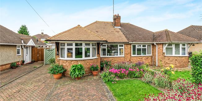 Asking Price £285,000, 3 Bedroom Semi Detached Bungalow For Sale in Luton, LU4