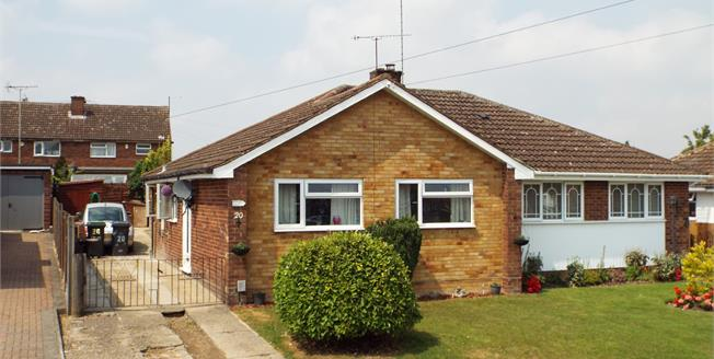Asking Price £250,000, 2 Bedroom Semi Detached Bungalow For Sale in Luton, LU4