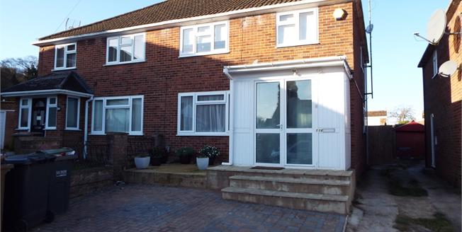 Guide Price £280,000, 3 Bedroom Semi Detached House For Sale in Luton, LU4