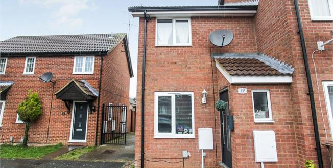 Asking Price £220,000, 2 Bedroom End of Terrace House For Sale in Luton, LU4