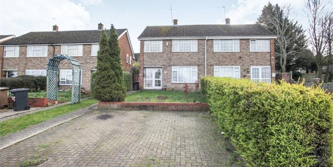 Asking Price £275,000, 3 Bedroom Semi Detached House For Sale in Luton, LU4