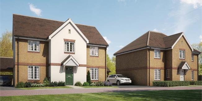 £534,995, 4 Bedroom Detached House For Sale in The Green, SG5