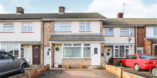 Asking Price £290,000, 3 Bedroom Terraced House For Sale in Stotfold, SG5