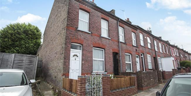 Asking Price £205,000, 2 Bedroom End of Terrace House For Sale in Luton, LU1
