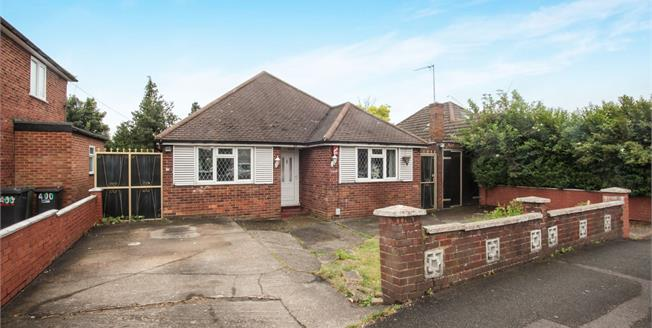 Fixed Price £315,000, 3 Bedroom Detached Bungalow For Sale in Luton, LU4
