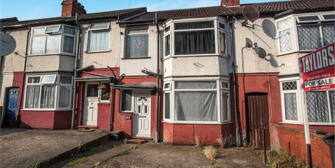 Fixed Price £240,000, 3 Bedroom Terraced House For Sale in Luton, LU1