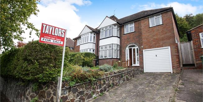 Asking Price £375,000, 5 Bedroom Semi Detached House For Sale in Luton, LU2