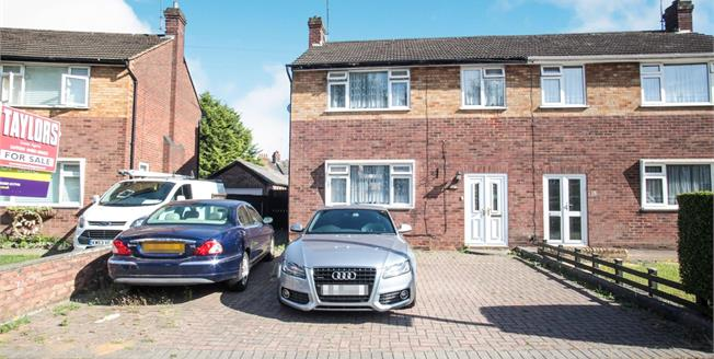 Offers Over £290,000, 3 Bedroom Semi Detached House For Sale in Luton, LU1