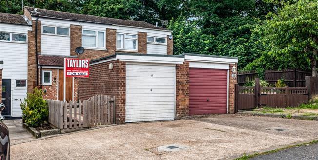 Guide Price £310,000, 3 Bedroom Terraced House For Sale in Hemel Hempstead, HP2
