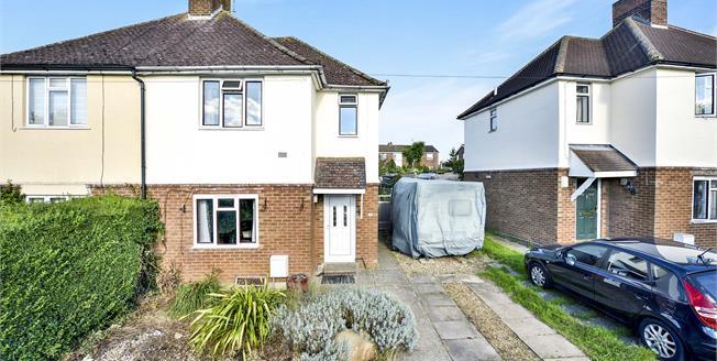 Guide Price £290,000, 3 Bedroom Semi Detached House For Sale in Newton Longville, MK17