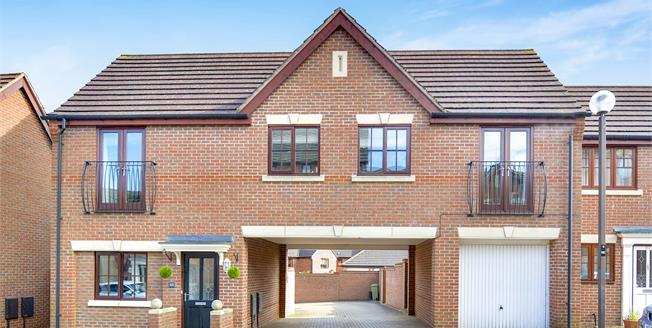 Offers Over £265,000, 2 Bedroom Detached Maisonette For Sale in Westcroft, MK4
