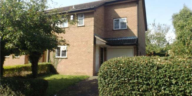 Asking Price £230,000, 3 Bedroom Semi Detached House For Sale in Fishermead, MK6