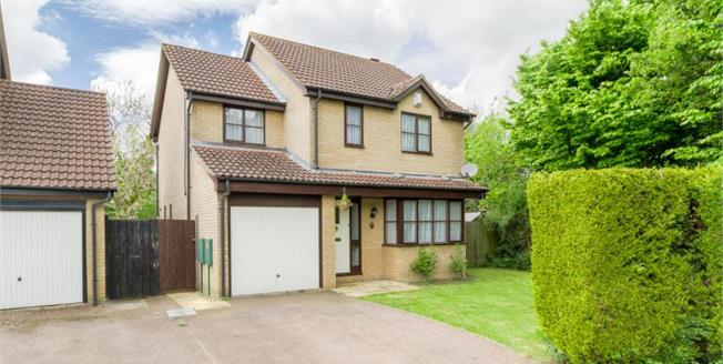 £389,999, 4 Bedroom Detached House For Sale in Browns Wood, MK7