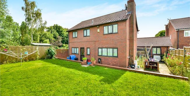 Offers Over £400,000, 4 Bedroom Detached House For Sale in Springfield, MK6