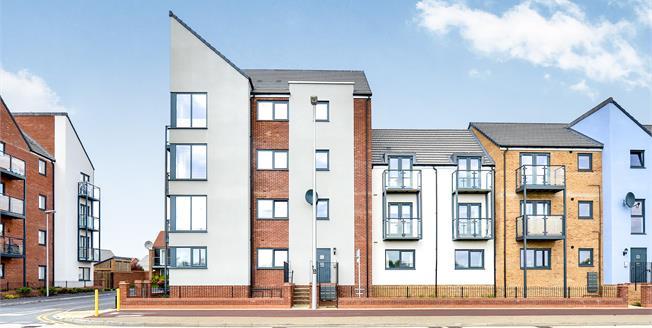 Offers Over £194,500, 2 Bedroom Ground Floor Flat For Sale in Broughton, MK10