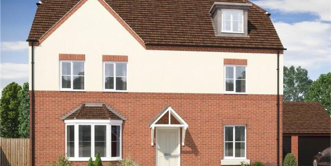 £557,000, 5 Bedroom Detached House For Sale in Anglia Way, MK40