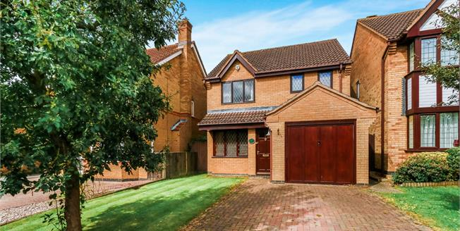 Offers in excess of £350,000, 3 Bedroom Detached House For Sale in Olney, MK46