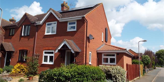Asking Price £300,000, 3 Bedroom Semi Detached House For Sale in Hanslope, MK19