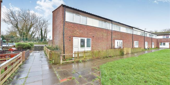 Offers Over £185,000, 3 Bedroom End of Terrace House For Sale in Greenleys, MK12