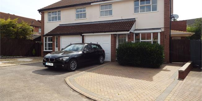 Guide Price £299,950, 4 Bedroom Semi Detached House For Sale in Brackley, NN13