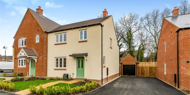 Asking Price £299,995, 3 Bedroom Semi Detached House For Sale in Northamptonshire, NN12