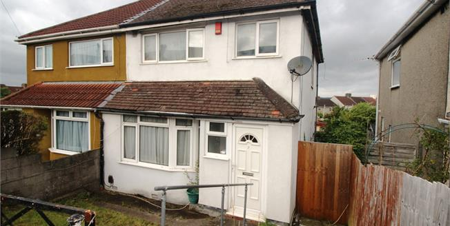 Offers in excess of £175,000, 3 Bedroom Semi Detached House For Sale in Bristol, BS4