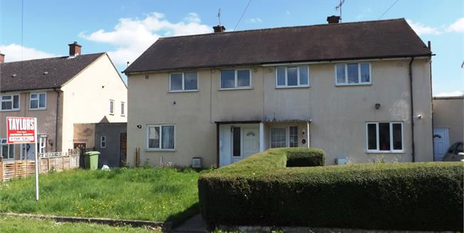 Guide Price £175,000, 3 Bedroom Semi Detached House For Sale in Cheltenham, GL51