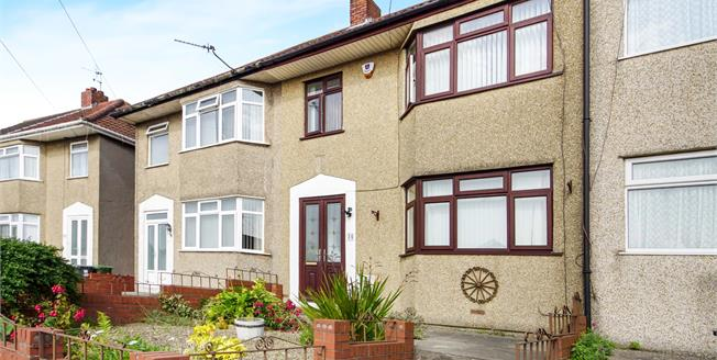 Offers Over £260,000, 3 Bedroom Terraced House For Sale in Bristol, BS16