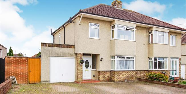 Guide Price £340,000, 3 Bedroom Semi Detached House For Sale in Mangotsfield, BS16