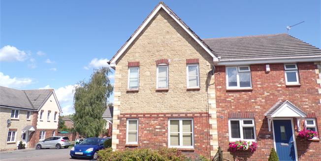 Asking Price £279,995, 3 Bedroom Semi Detached House For Sale in Emersons Green, BS16