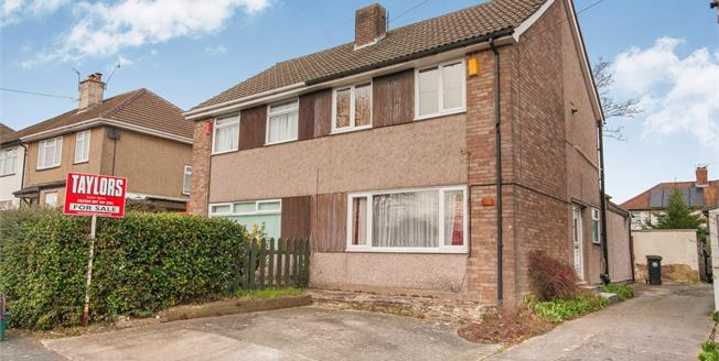 Offers in excess of £195,000, 2 Bedroom Semi Detached House For Sale in Bristol, BS10