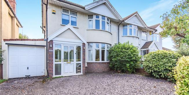 Offers in the region of £350,000, 3 Bedroom Semi Detached House For Sale in Filton, BS34
