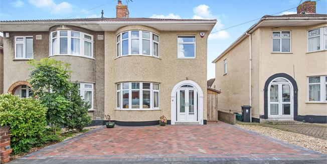 Offers in excess of £340,000, 3 Bedroom Semi Detached House For Sale in Filton, BS34