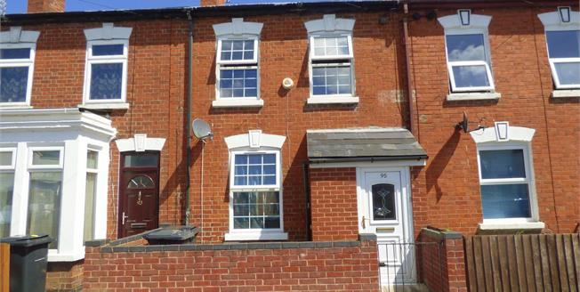 Offers in the region of £130,000, 2 Bedroom Terraced House For Sale in Gloucester, GL1