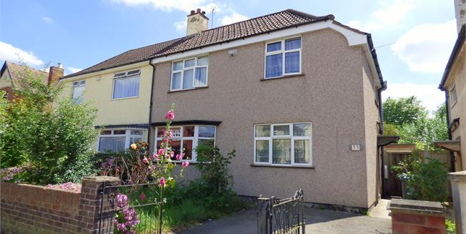Asking Price £210,000, 3 Bedroom Semi Detached House For Sale in Gloucester, GL1