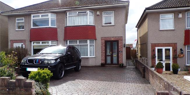 Offers in excess of £260,000, 3 Bedroom Semi Detached House For Sale in Hanham, BS15