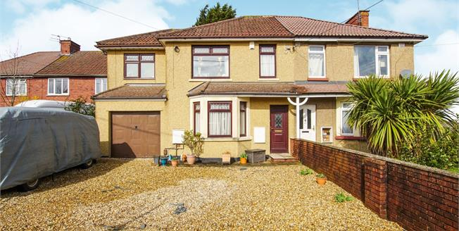 Offers in excess of £300,000, 4 Bedroom Semi Detached House For Sale in Kingswood, BS15